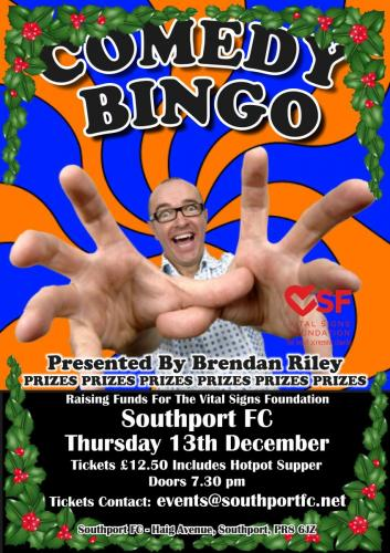 Bingo Southport FC Dec 18