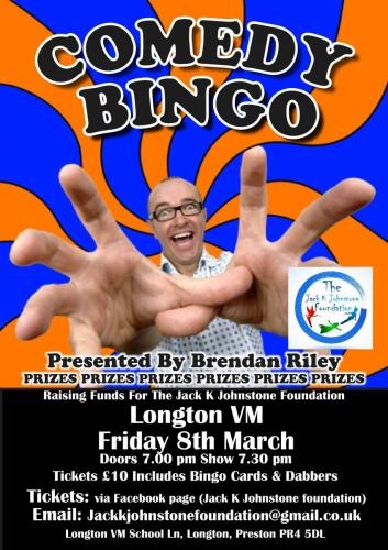 Longton Bingo 8th March 2019